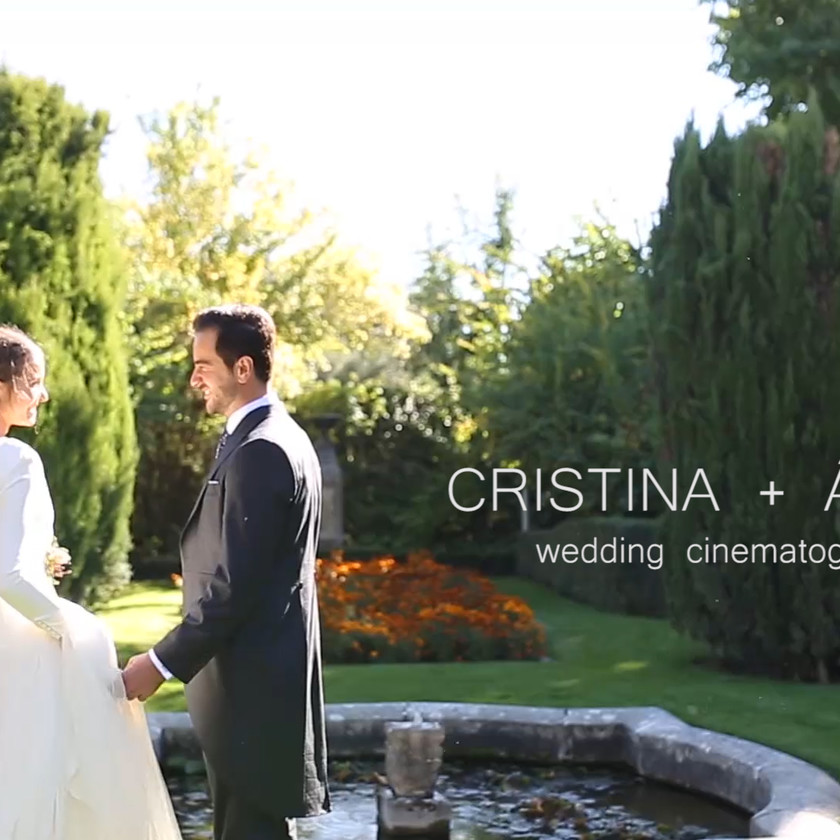 Cristina + Ángel. Boda en Finca La Camarga, Madrid