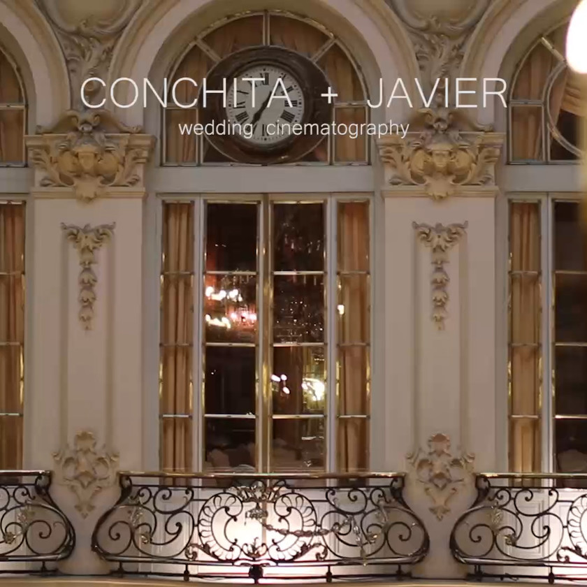 Conchita + Javier. Boda en Casino de Madrid